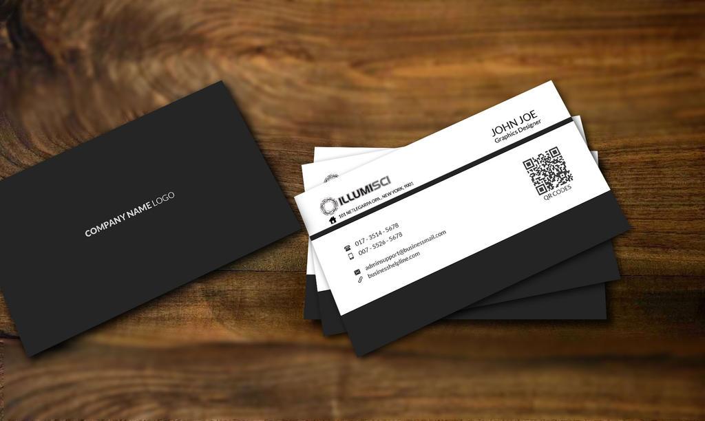 Sleek Business Cards by shariyarsojib on DeviantArt