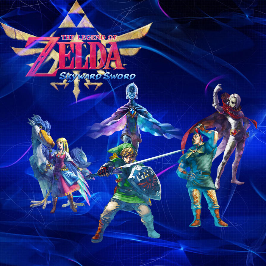 Zelda Wallpapers: Legend Of Zelda: Skyward Sword Wallpaper By StellaTheCat12