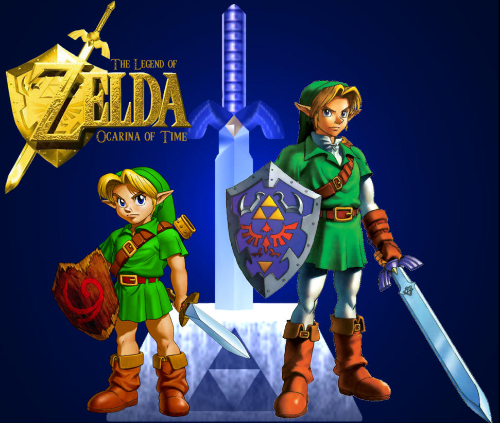 Legend Of Zelda Ocarina Time Wallpaper By StellaTheCat12