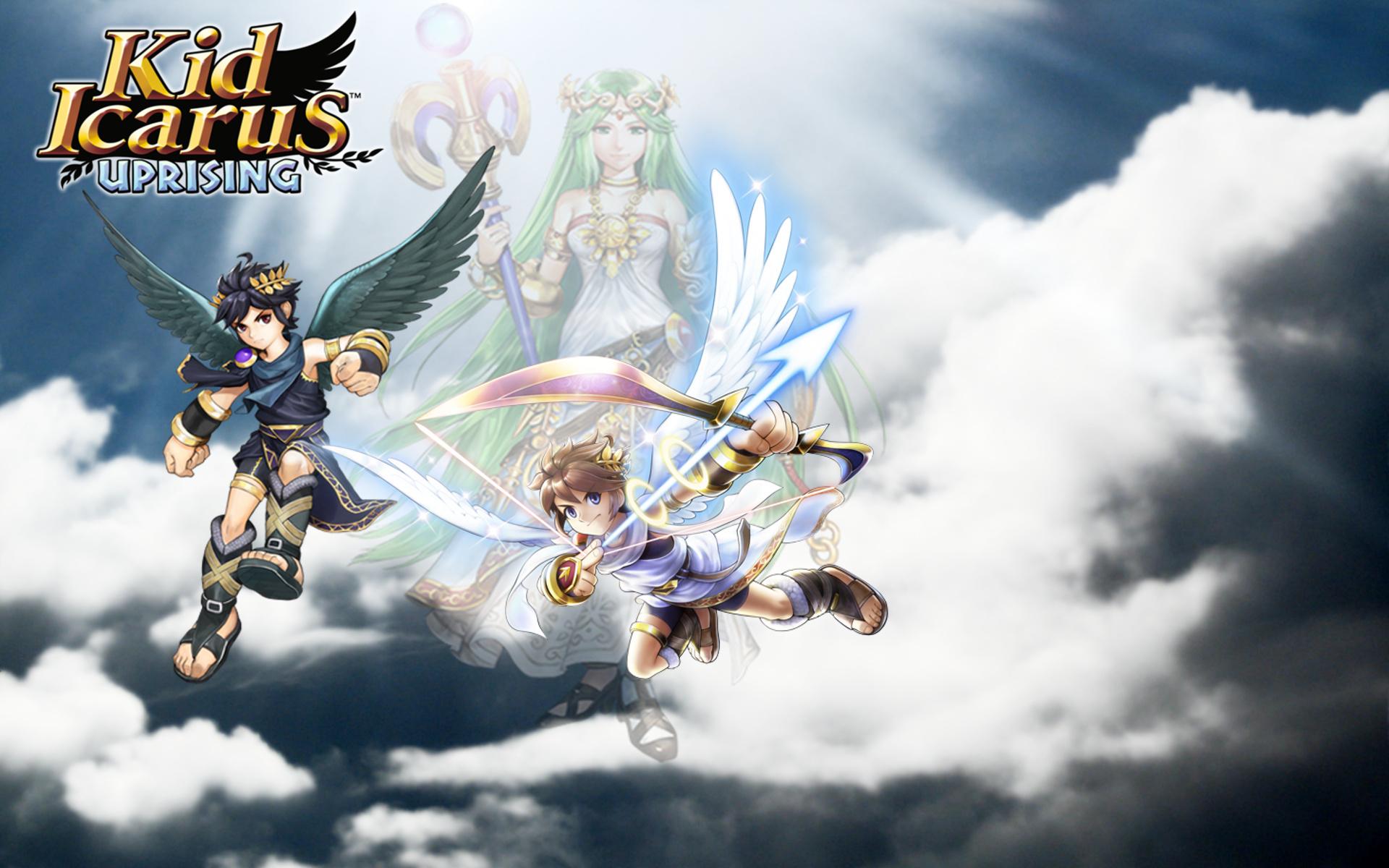 Dark Pit Kid Icarus Uprising