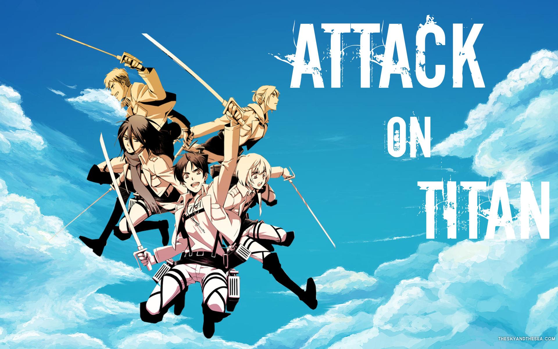 Attack On Titan Wallpaper 2 By StellaTheCat12