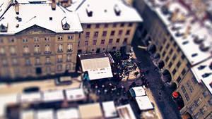 Christmas-Market in Bern by Miingno