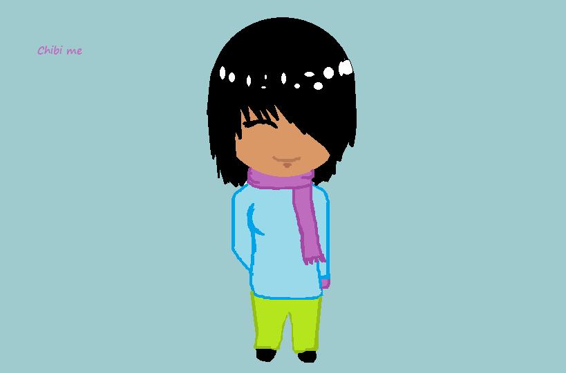 Me In Da Winter by Nikkittycat22