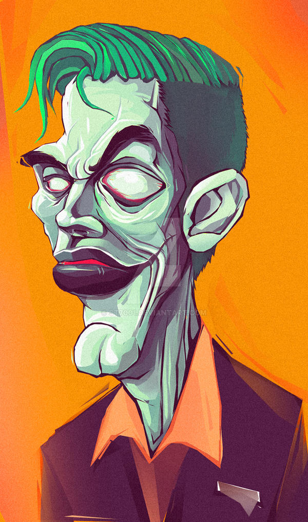 The Joker 2013 Edition. by st7001