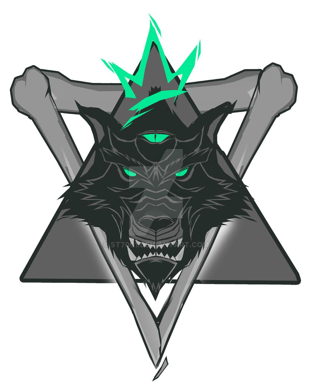 Wolf pack logo design - photo#43
