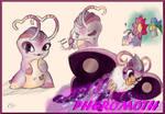 Slugterra OC: Pheromoth ((Cupid))