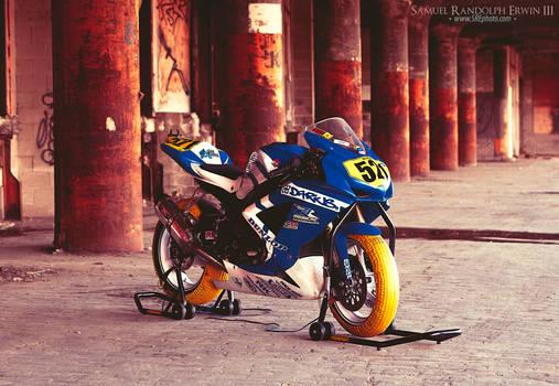 Motorcycle shot