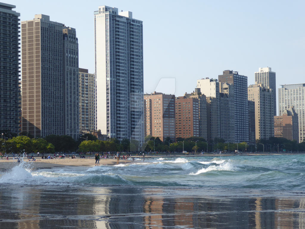 Chicago has beaches by ArtByCleeland
