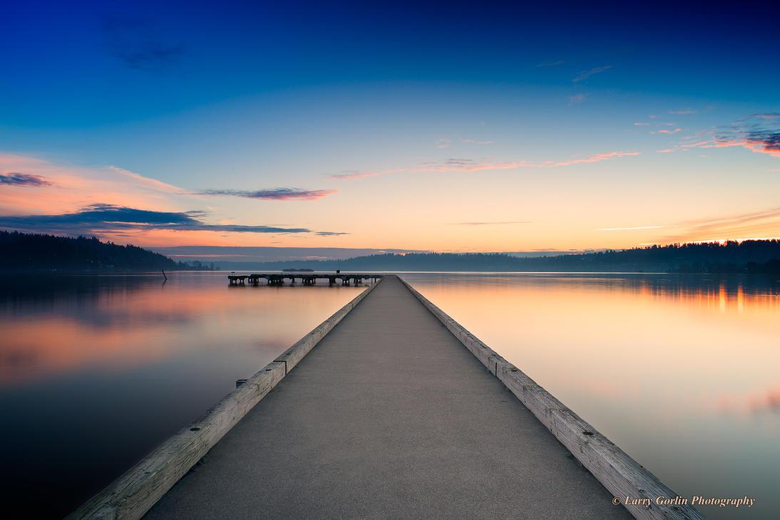 Lake Washington by LarryGorlin