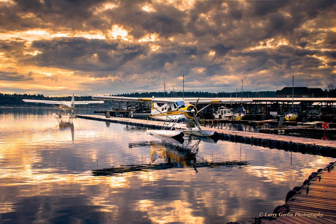 Seaplanes by LarryGorlin