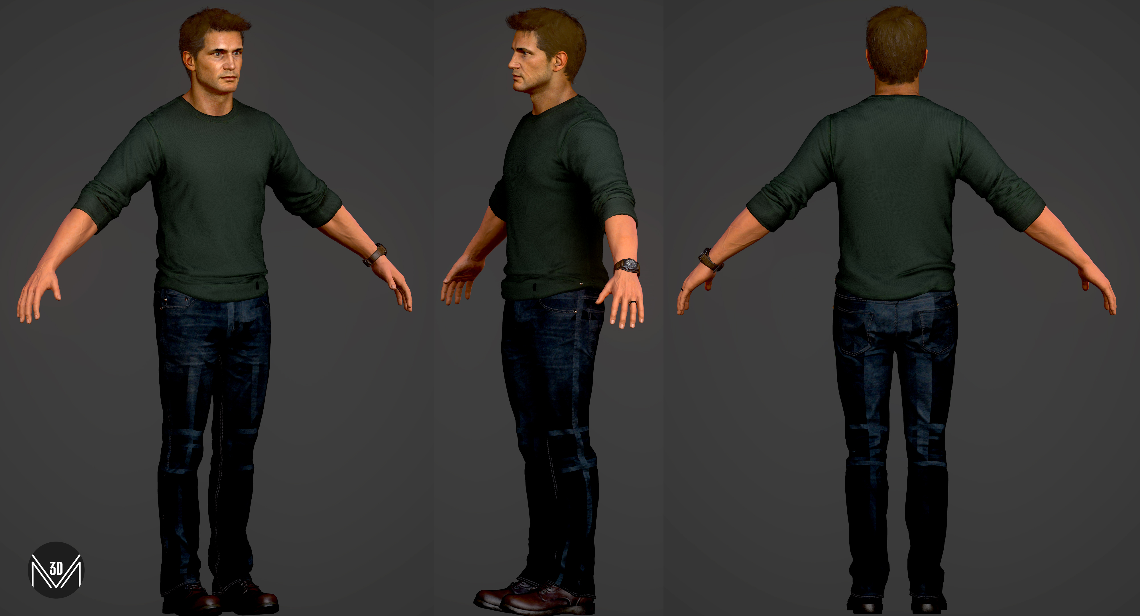 Uncharted 4 Nathan Drake Home By Maestre3d On Deviantart