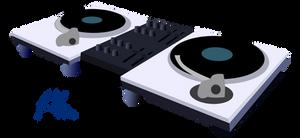 Dj Pon-3 turntables