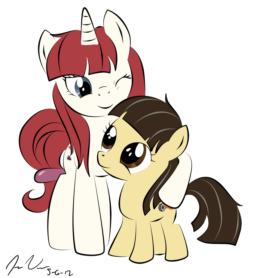 My little Foalsitter by Epic-Panda17