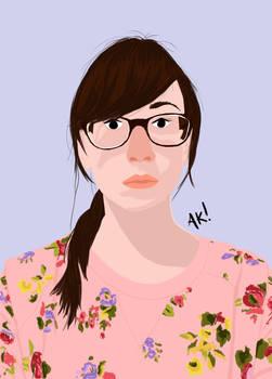 Self Portrait Illustrated