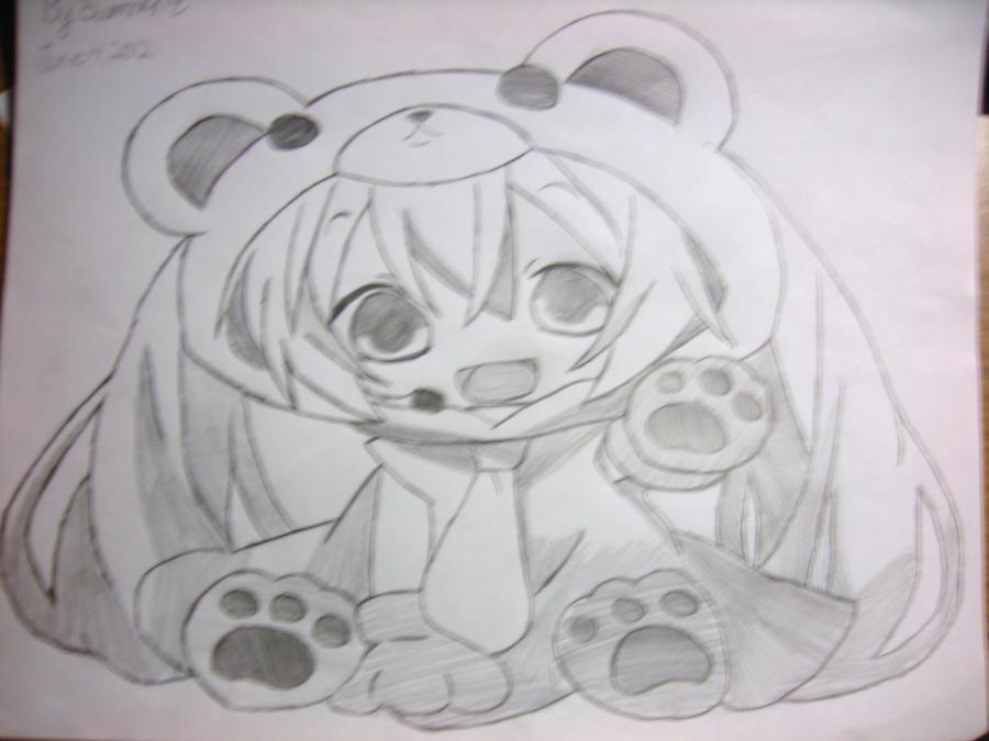 chibi cute miku hatsune by summerdears101 on deviantart