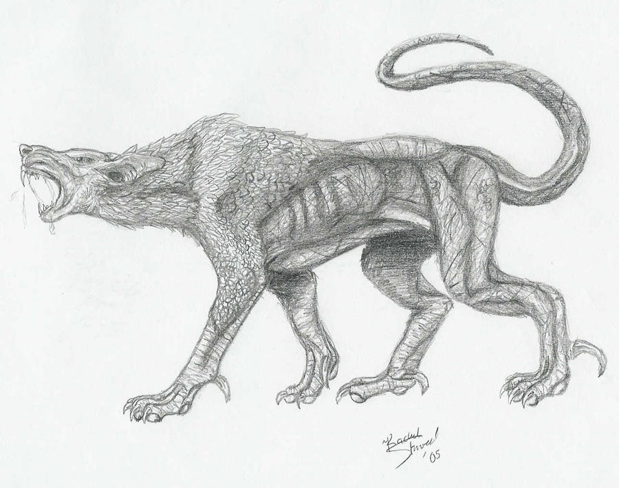 Hellhound by DrMario64
