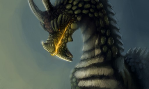 Beware the Dragon by Quadrupedal
