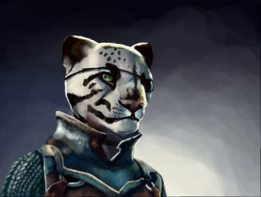 Kitteh the Khajiit by Quadrupedal