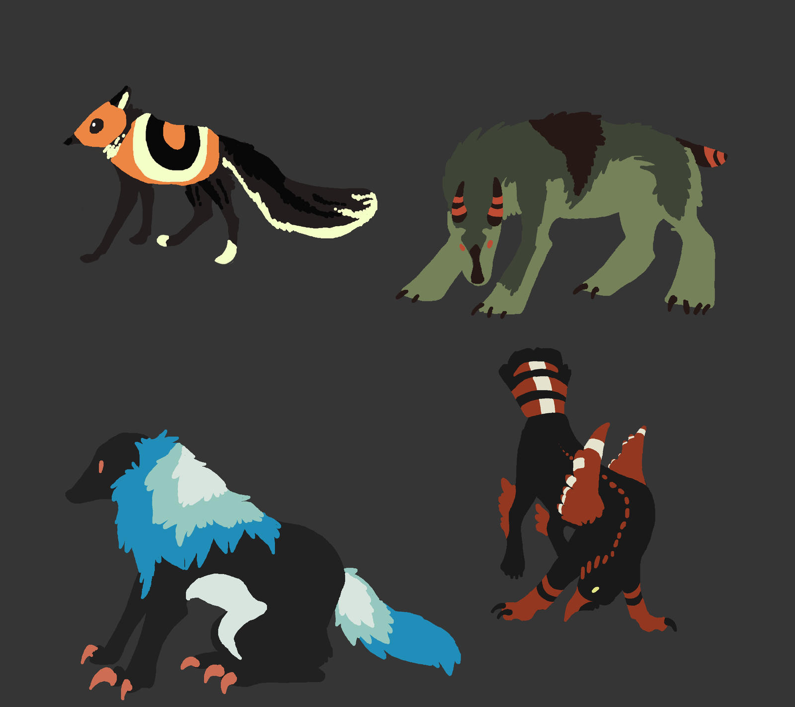 Adopts 2 by Quadrupedal