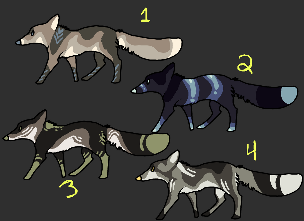 ColorFox Adopts OPEN by Quadrupedal