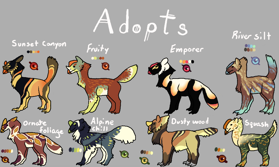 Open Adopts! by Quadrupedal