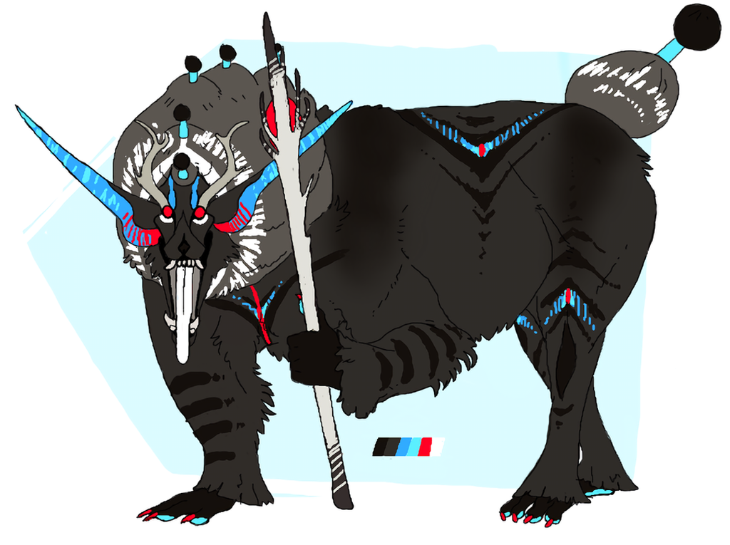 OTA Magical Beast Adopt (Closed) by Quadrupedal