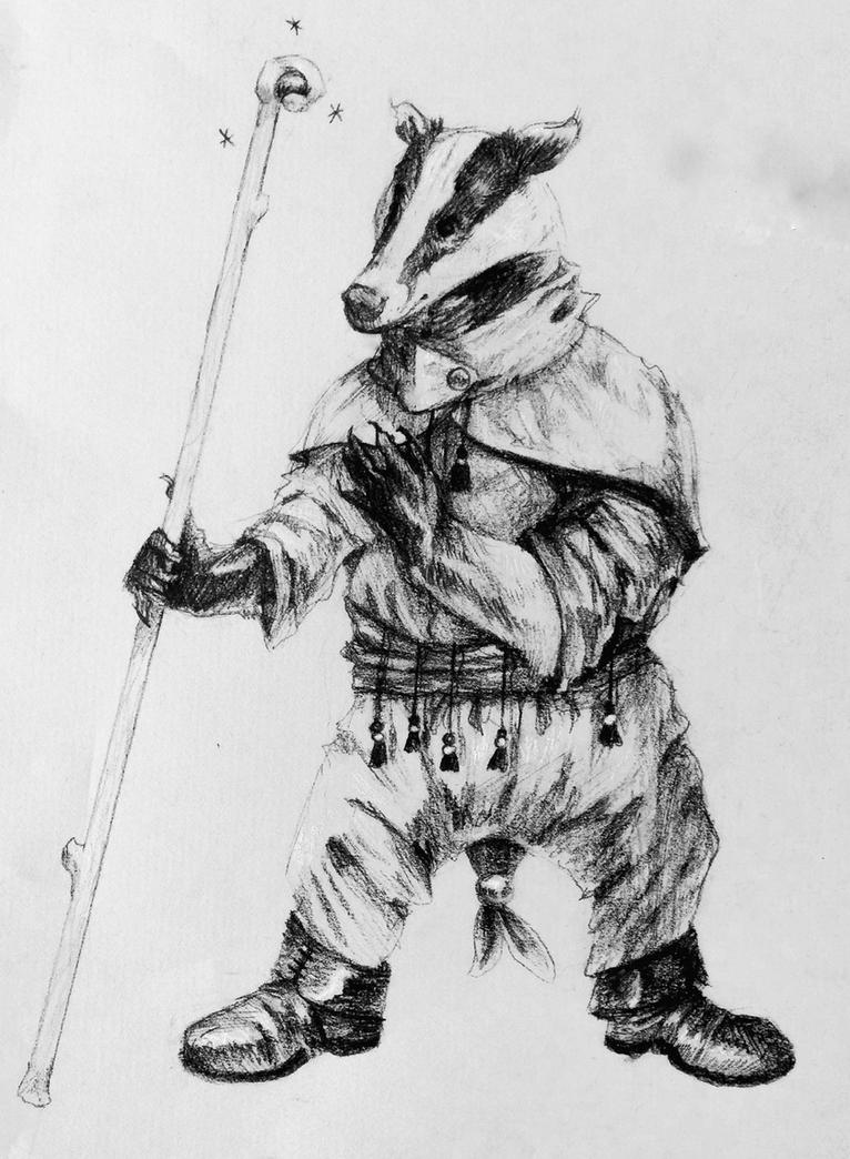 Badger Mage by Quadrupedal