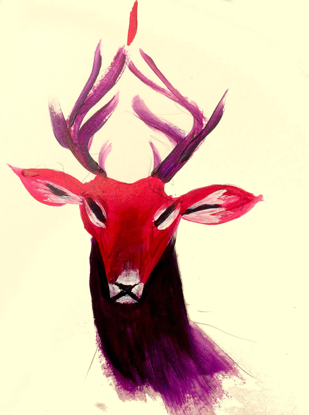 Red Deer by Quadrupedal