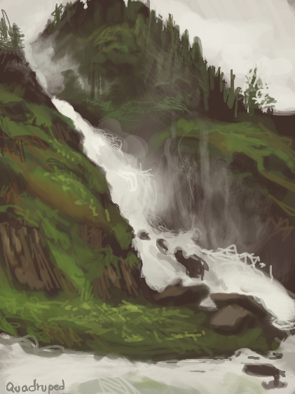 The Falls by Quadrupedal