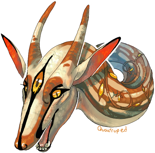 Spiral Commission by Quadrupedal