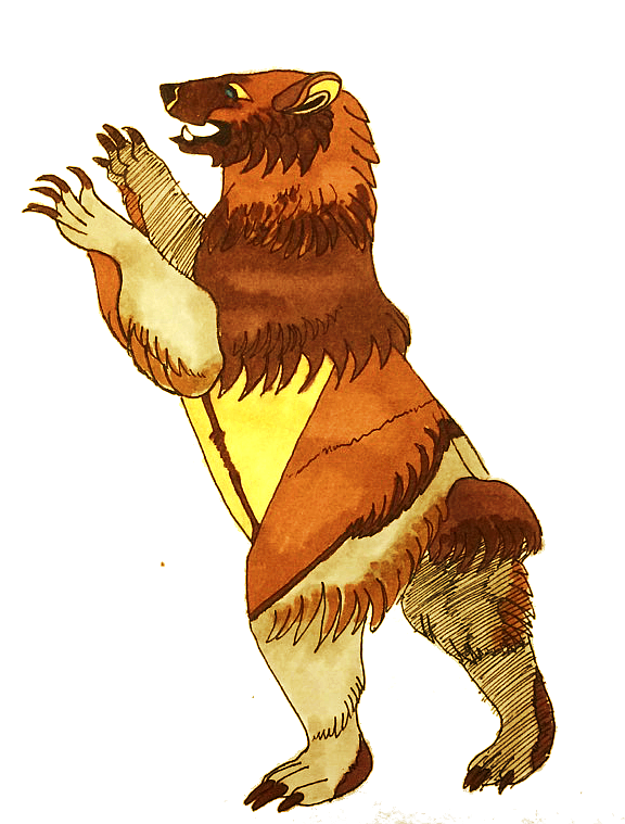 Cass Bear by Quadrupedal