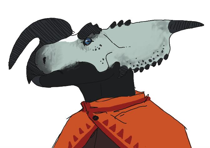 Einiosaurus lizardfolk by Quadrupedal