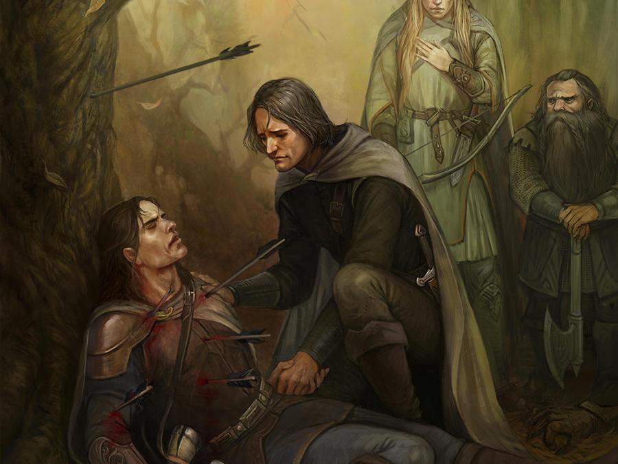 The Death of Boromir