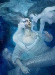 mermaid by Gellihana-art