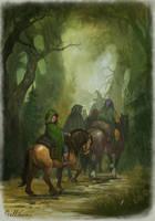 Long way by Gellihana-art