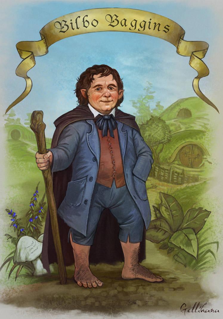 Bilbo Baggins by Gellihana-art