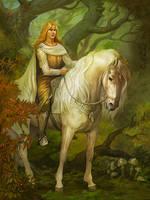 Glorfindel by Gellihana-art