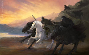 Asfaloth by Gellihana-art