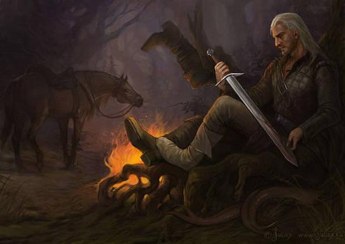Geralt - After hunting