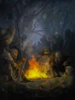 Orcs by Gellihana-art