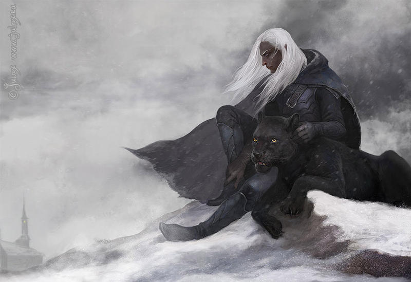 Drizzt by CG-Warrior