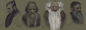 Dwarves by Gellihana-art