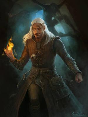 The Witcher) by Gellihana-art