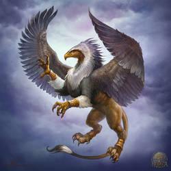 Griffin by Gellihana-art