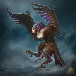 Harpy by Gellihana-art