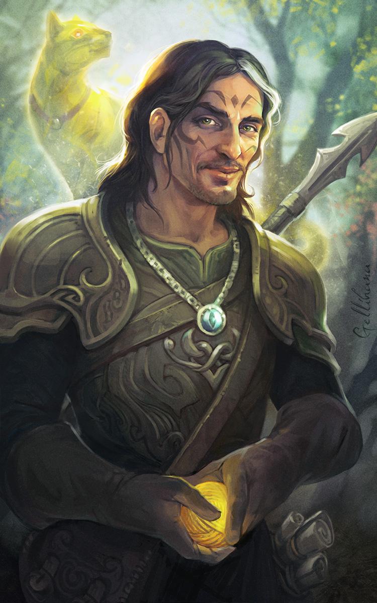 Druid and his familiar
