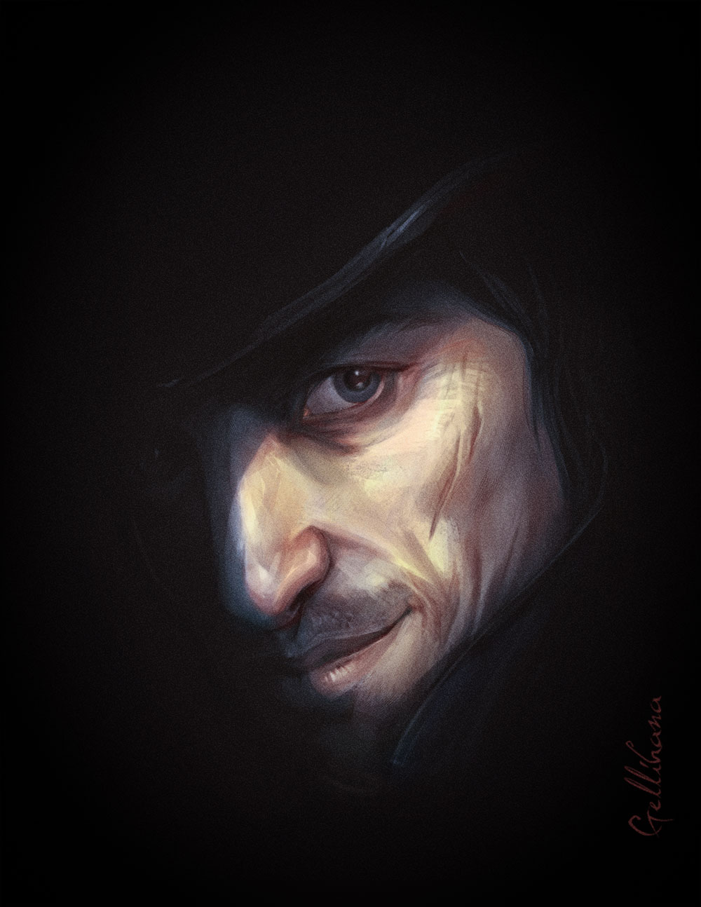 Man Face