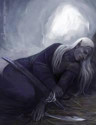 Wintering by Gellihana-art