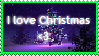 I love Christmas (STAMP) by Rosabird5673