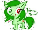 Chibi Vanna Melon Pony (GIFT)